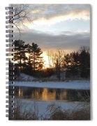 Beautiful Winter Dawn Spiral Notebook