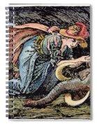 Beauty & The Beast, 1891 Spiral Notebook