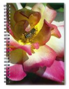 Beauty And The Bee Spiral Notebook