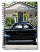 Beauty In Black Spiral Notebook