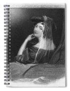 Beauty In Gondola, 1842 Spiral Notebook