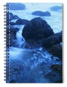 Beauty In The Ebb And Flow Spiral Notebook