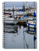 Beauty Of Boats Spiral Notebook
