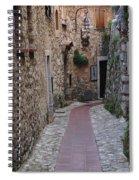 Beauty Of Eze France Spiral Notebook