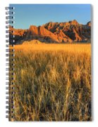 Beauty Of The Badlands Spiral Notebook