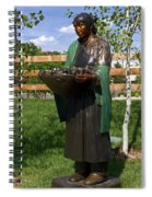 Beauty Of The Harvest Spiral Notebook