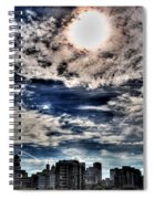 Beauty Of The Morning Sky Spiral Notebook
