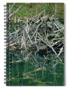 Beaver House Spiral Notebook