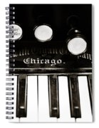 Beckwith Organ 2 Spiral Notebook