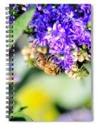 Bee Happy Spiral Notebook