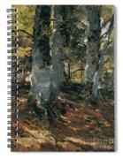Beechwoods At Polling Bavaria Spiral Notebook