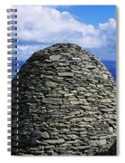 Beehive Huts At The Coast, Skellig Spiral Notebook