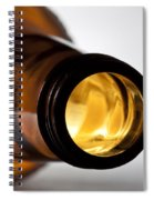 Beer Bottle Neck 1 B Spiral Notebook