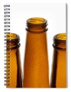 Beer Bottles 1 A Spiral Notebook