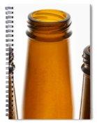 Beer Bottles 1 B Spiral Notebook