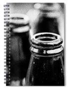 Beer Bottles Spiral Notebook