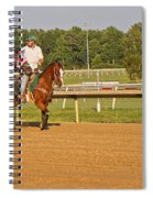 Before The Race Spiral Notebook