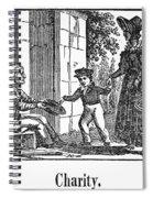 Beggar, C1830 Spiral Notebook