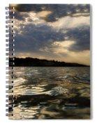 Beginning Of Darkness  Spiral Notebook