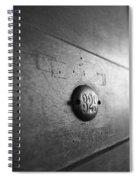 Behind Door No. 329 Spiral Notebook