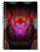 Behind The Eyes 3  Spiral Notebook