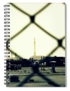 Behind The Fence Spiral Notebook