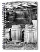 Behind The Hetchler House Spiral Notebook