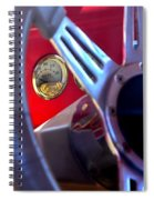 Behind The Wheel Of A 1940 Ford Spiral Notebook