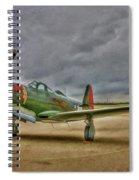 Bell P-63 Kingcobra Spiral Notebook