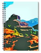 Bell Rock Sedona Arizona Spiral Notebook