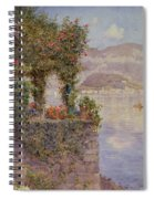 Bellagio From Tremezzo Spiral Notebook