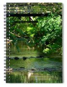 Below The Bridge Is Another World Spiral Notebook