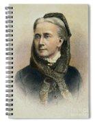 Belva Ann Lockwood Spiral Notebook