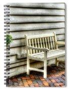 Bench Me Spiral Notebook