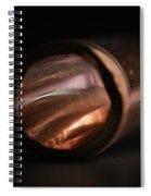 Bending Light Spiral Notebook