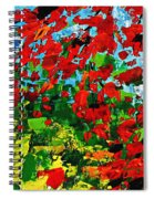 Beneath The Autumn Tree Spiral Notebook