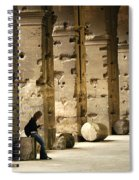 Beneath The Colosseum Spiral Notebook