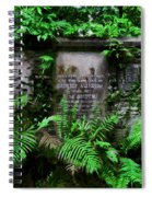 Beneath This Stone  Spiral Notebook