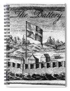 Benjamin Franklin: Battery Spiral Notebook