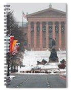 Benjamin Franklin Parkway Panorama Spiral Notebook