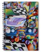 Ben's Car Show Spiral Notebook