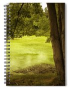 Bent Twig 5 Spiral Notebook
