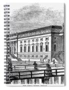 Berlin: Opera House, 1843 Spiral Notebook