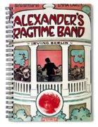 Berlin: Ragtime Band, 1911 Spiral Notebook