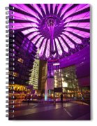 Berlin Sony Center Spiral Notebook