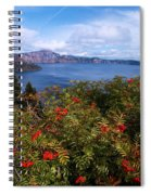 Berries By The Lake Spiral Notebook