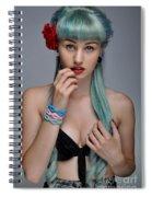 Bethykinns Angel 1.0 Spiral Notebook