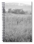 Between Mountains And Meadows Spiral Notebook