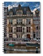 Beulingsluis. Amsterdam Spiral Notebook