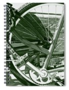 Bevy Of Beach Bikes Spiral Notebook